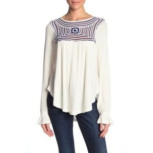 Free People  Soul Mate Oversized Top Sweater S